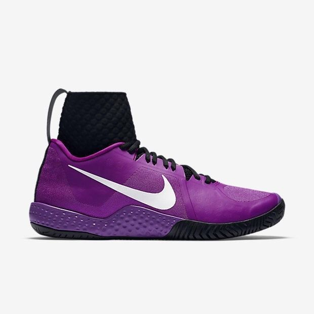 Nike Flare Women's Tennis Court Shoes Serena Williams Purple MSRP $200 NEW #Nike