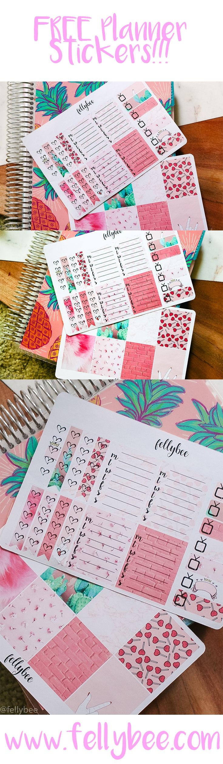 Free Planner Stickers {newsletter subscription required}
