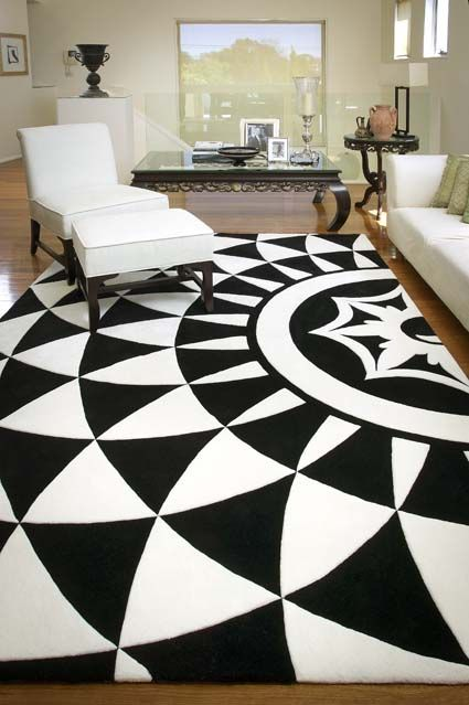 Alex Perry for Designer Rugs. This is Rhodes, a hand tufted design in New Zealand Wool. Exclusive to Designer Rugs.