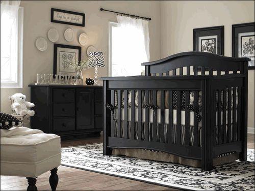 Bonavita Hudson crib - black