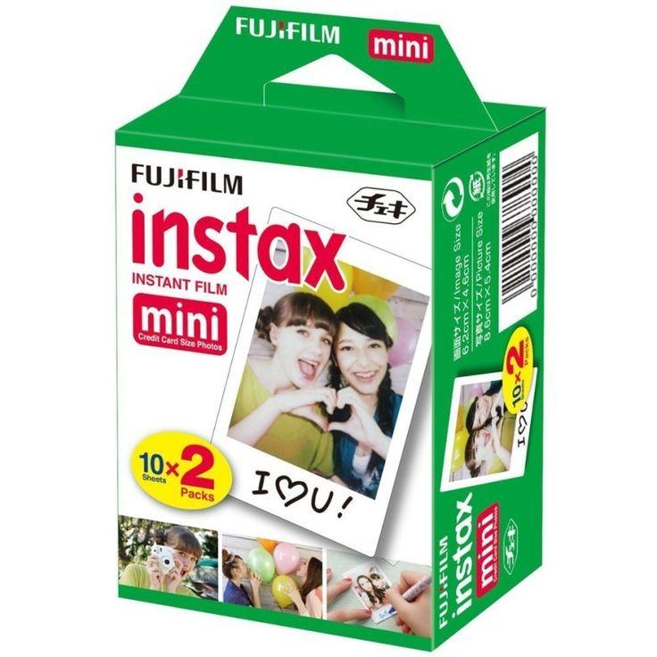 ราคาประหยัดสุดๆ<SP>Fuji ฟิล์ม Fujifilm Instax Mini 7s, Mini 8, Mini 8+, Mini 70, Mini 25, Mini 50S, & mini 90 (20 แผ่น)++Fuji ฟิล์ม Fujifilm Instax Mini 7s, Mini 8, Mini 8+, Mini 70, Mini 25, Mini 50S, & mini 90 (20 แผ่น) (1 รีวิว) ยี่สิบแผ่น ISO800 ใช้ได้ทันที ขนาด5.4 x 8.6 ซม. 509 บาท -49% 1,000 บาท  ...++