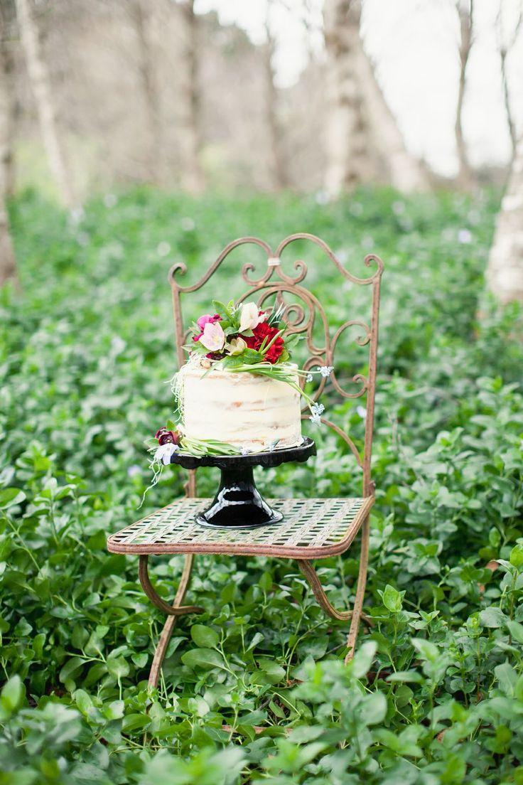 Nona's Homemade Cakes. Skim Coated Wedding Cake xo Photo by Courtney Horwood