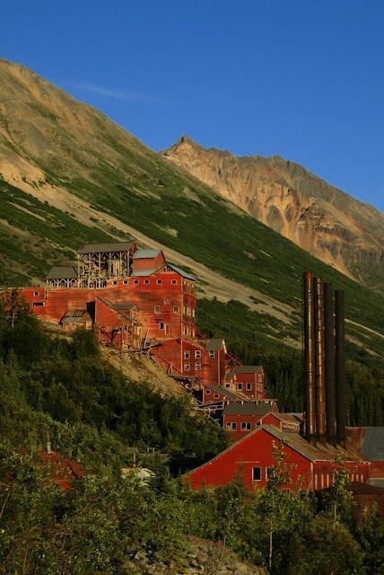 Copper mine of Kennecott, Valdez-Cordova Census area, Alaska