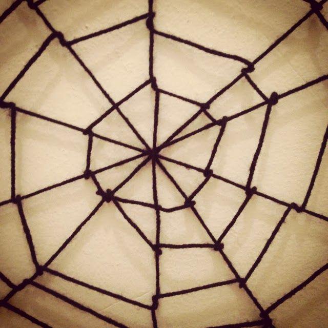 Crafty Lumberjacks : I'm walking in a spider web...of yarn!
