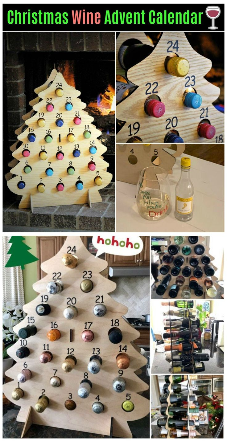 Christmas Wine Advent Calendar wineadventcalendardiy