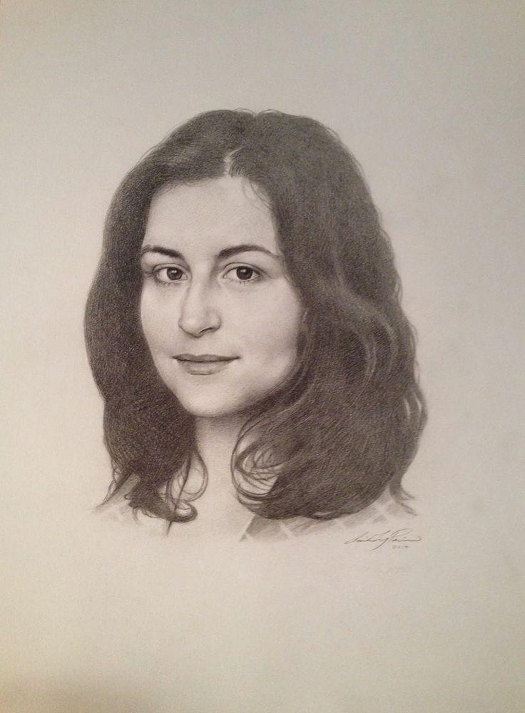 Art of Carolin Prinn #portrait #fineart #drawing #illustration #portraiture #pencil