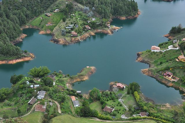 Represa de Guatape