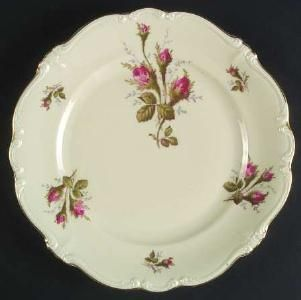Antique China Made in Germany <3 Rosenthal Moss Rose plate