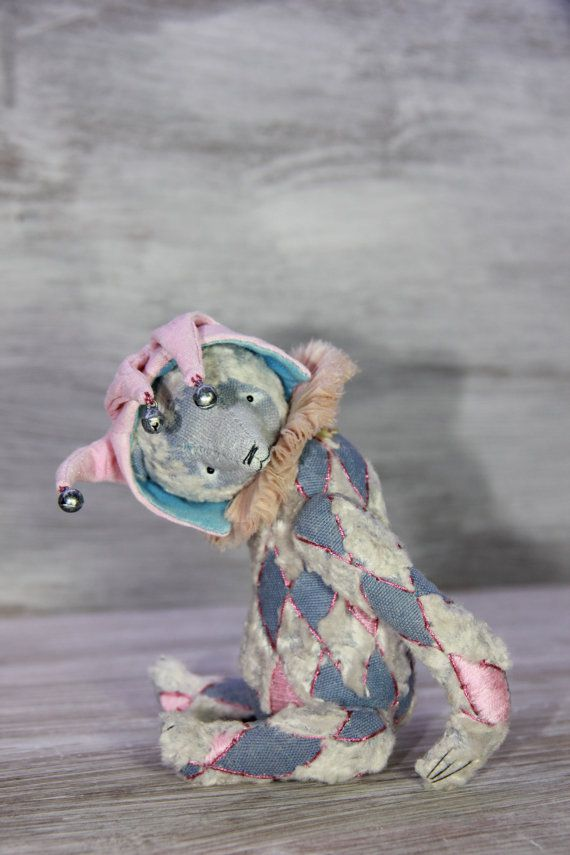 ooak artist teddy bear Blue Bubble by OlesyaMorozovaGF on Etsy