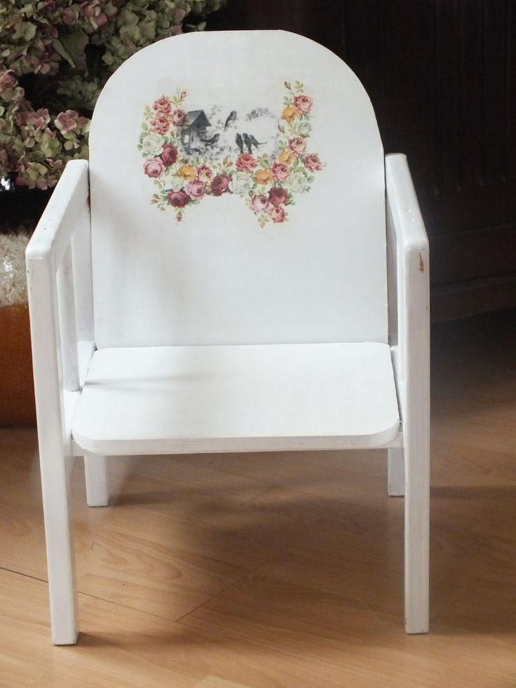 Co ja robię tu?...: Krzesło dla mojej księżniczki