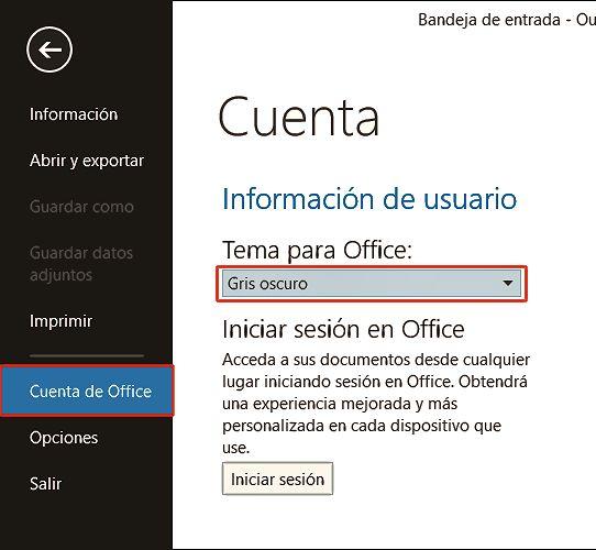 Tema Office 2013
