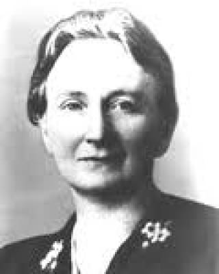 """Mrs.H.T.Kuipers-Rietberg (aka Auntie Riek). She was the thriving force behind the organized resistance movement """"LO"""", an organization that offered help to Jews and men who were forced to work in Germany. They provided shelter, financial aid, false papers and food stamps. The military branch of the """"LO"""" was the """"LKP"""". Auntie Riek was born in Winterswijk, The Netherlands on May 26th, 1893 and killed in Ravensbrück on December 27th 1944."""