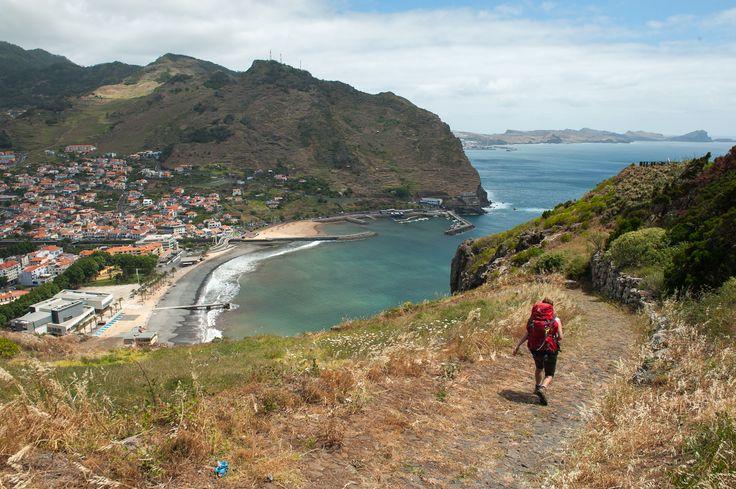 View while descending on Caminho das Voltinhas to Machico.
