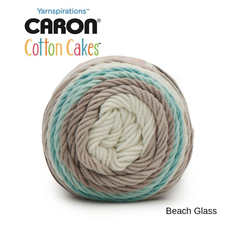 Caron cotton cakes beach glass cotton cake crochet