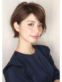 アフロートルヴア 長澤まさみ、吉瀬美智子さん風ショートボブ