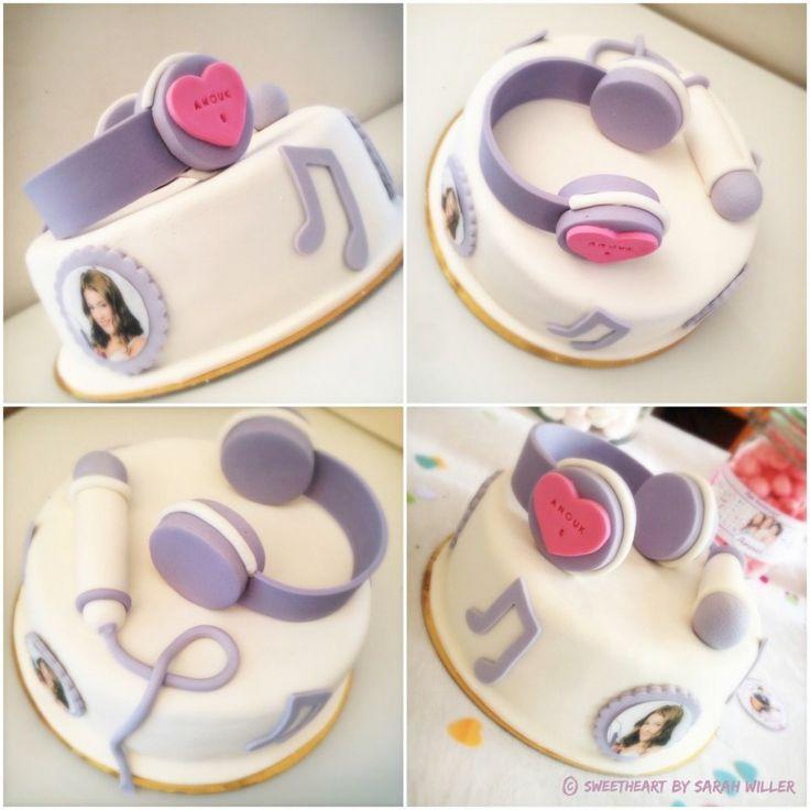 Gâteau Violetta #Disney