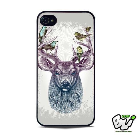 Deer Bird Colorful iPhone 5 | iPhone 5S Case
