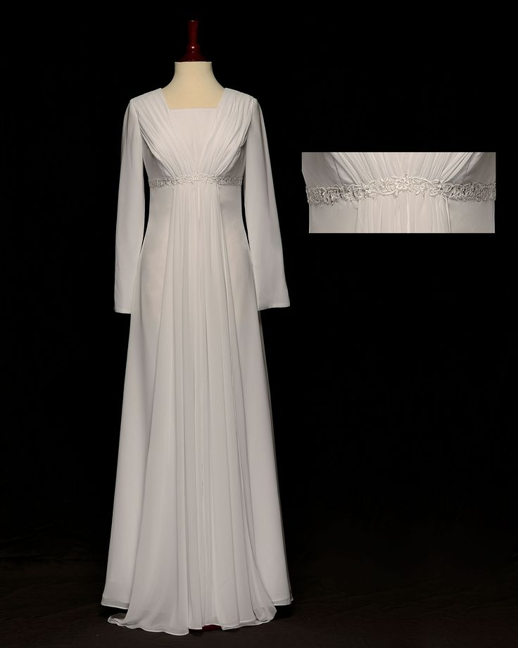 17 best images about vestidos do templo on pinterest for Mormon temple wedding dresses
