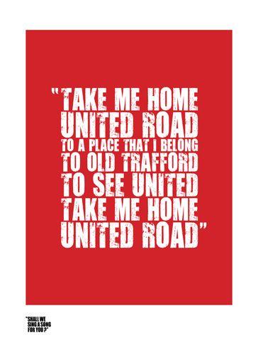 Glory Glory Man United!