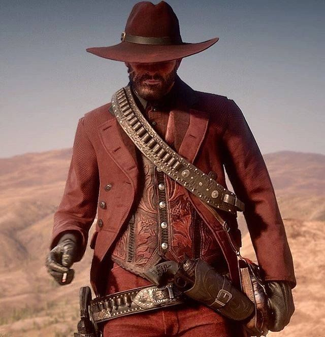 The Red Rider Red Dead Redemption Ii Red Dead Redemption