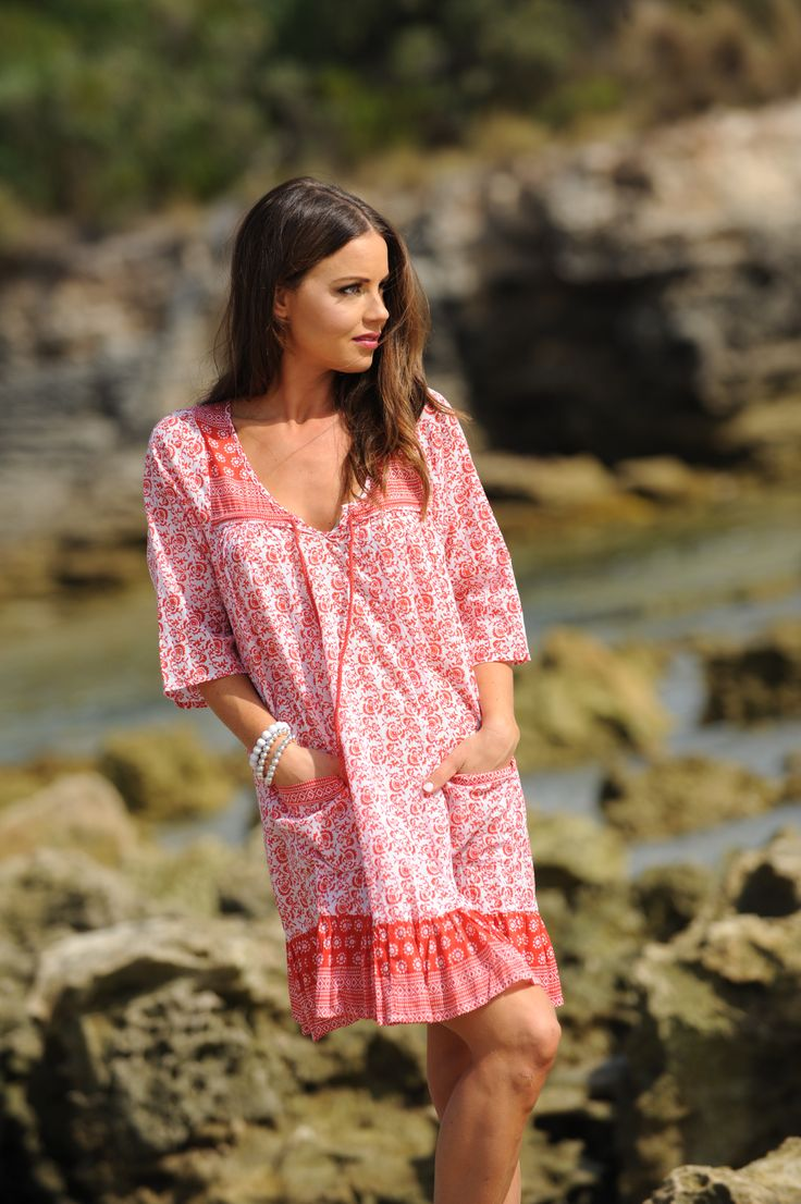 Talisman Poppy Philosophy dress perfect for relaxing at the beach!