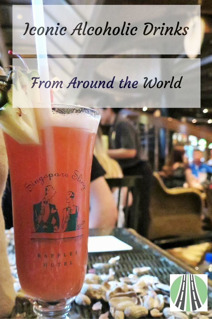 Famous, iconic alcoholic drinks from around the world. Personal experiences from Japanese Sake to Canada's Caesar. Cheers!