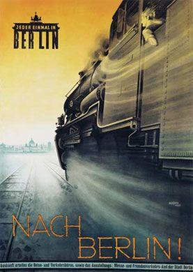 Fritz Rosen (Frankenthal 1890-Brighton 1980), Nach Berlin! Jeder einmal in Berlin, Plakat 1926 | Deutsches Historisches Museum - Strategien der Werbekunst 1850-1933