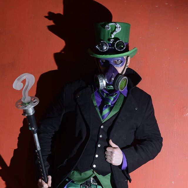 #Riddler #cosplay #cosplayer #cosplays #dccosplays #riddlercosplays #rkgcosplay…