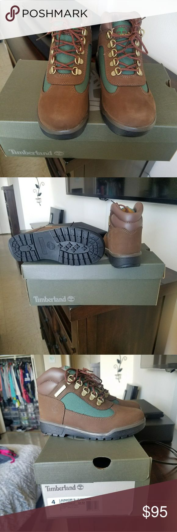 Timberland (new) Brand new in the box size 4youth so I believe it's a 5.5 to 6 in women. Timberland Shoes Winter & Rain Boots