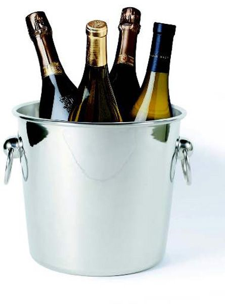 Ideal Quattro™ Wine And Champagne Chiller, Stainless Steel Gallery