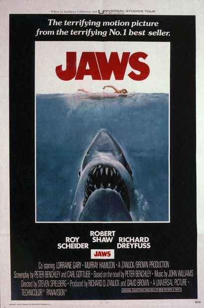 Jaws - The 75 Most Iconic Movie Posters of All Time | Complex