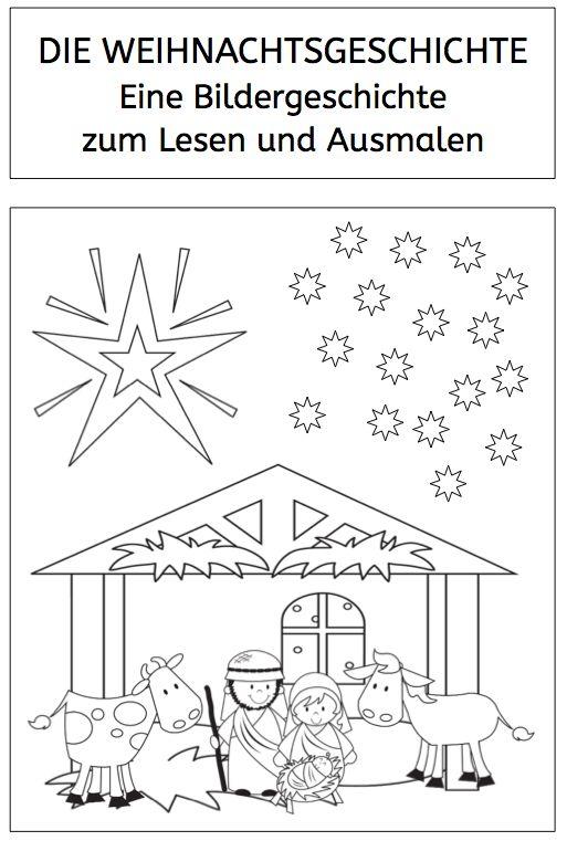 weihnachtsgeschichte bildergeschichte zum lesen und. Black Bedroom Furniture Sets. Home Design Ideas