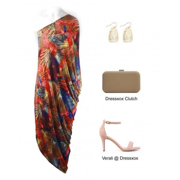 Joriyn One Shoulder Party Dress