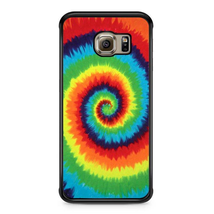 Spiral Tie Dye For Samsung Galaxy S6 Edge Case