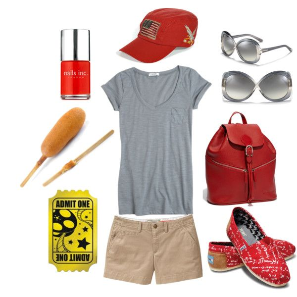 State Fair of Texas inspired. Loving the glasses, toms, and backpack.