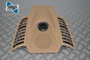 Neu Original Verkleidung Ramen Beige Abdeckung   Kompass fur Porsche Cayenne 958 2011-2013 7P5919107K