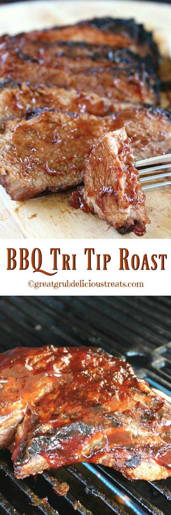 BBQ Tri Tip Roast : greatgrubdelicioustreats