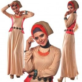 Baju Gamis Casual Terbaru Wanita Muslim #gamiscasual