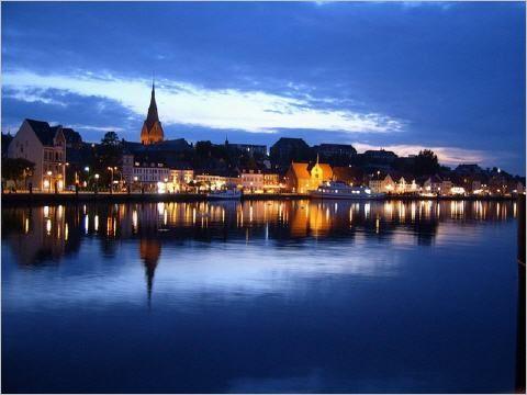 Flensburg, Germany - near the border of Denmark
