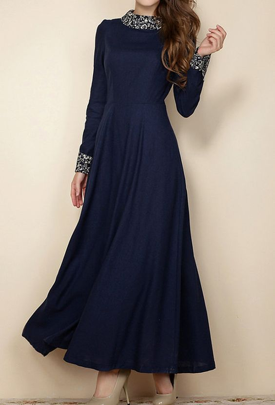 S3XL plus size dress maxi dress plus size clothing by customsize, $98.00: