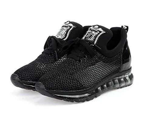 Oferta: 60.88€. Comprar Ofertas de WZG L sandalias de los zapatos de primavera y verano de gasa de malla transpirable zapatos casuales zapatos de lentejuelas au barato. ¡Mira las ofertas!
