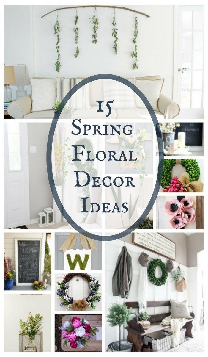 15 Spring Floral Decor Ideas | Merry Monday - Twelve On Main