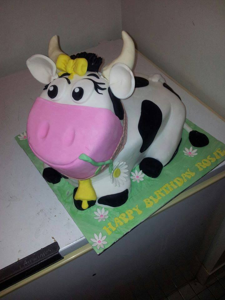 100 best 3 D Cakes images on Pinterest Cow cakes ...
