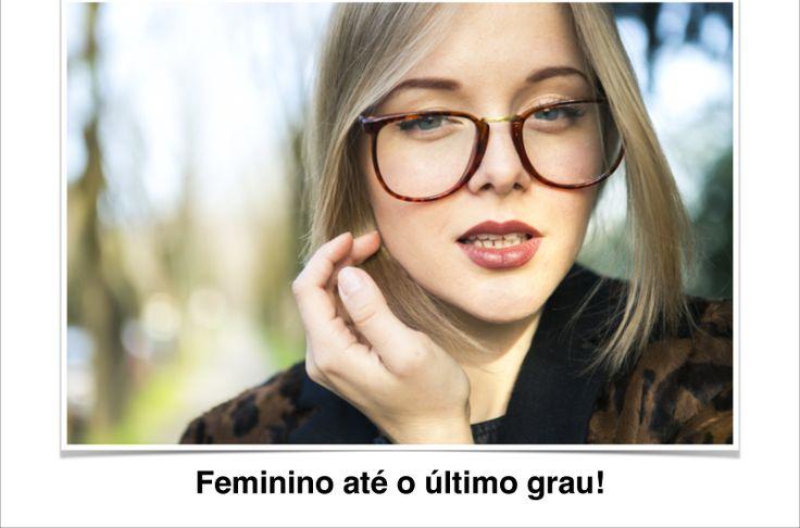 Feminino até o último grau | Oticas Paris