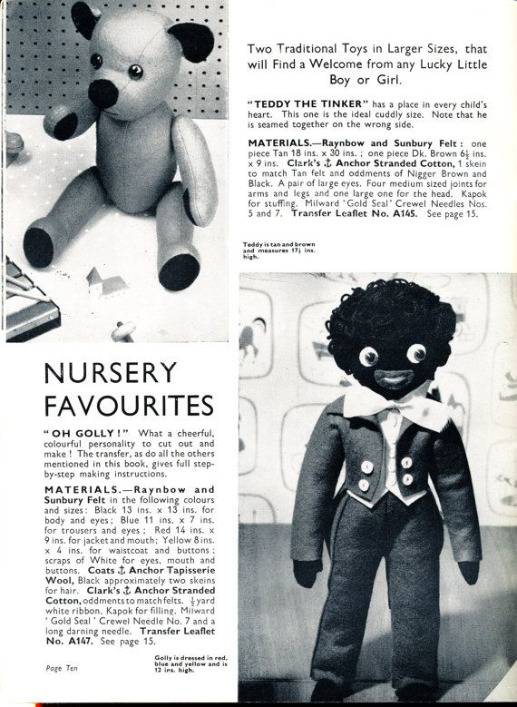 The 12 best 1940s soft toys images on Pinterest | Doll patterns ...