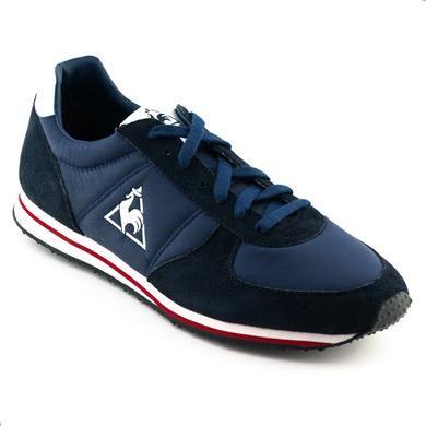Pantofi sport Le Coq Sportif Bolivar bleumarin din nylon si piele naturala