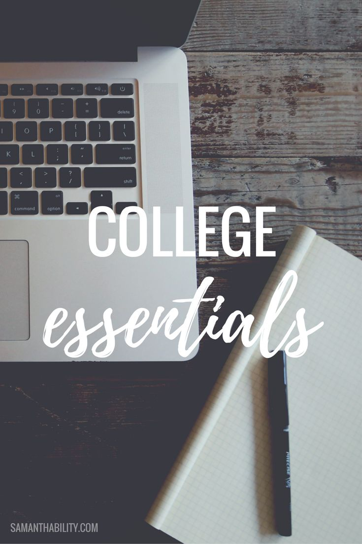 College essentials for back to school! Don't be caught without these college essential must haves!