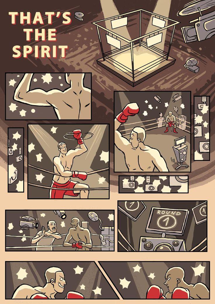 THAT'S THE SPIRIT [http://issuu.com/mnikodemski/docs/that_s_the_spirit] Script: Mateusz Nikodemski, Graphics: Pola Kowalewska