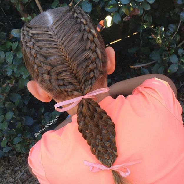 This Mum Is Taking Schoolyard Braids To A Whole New Level