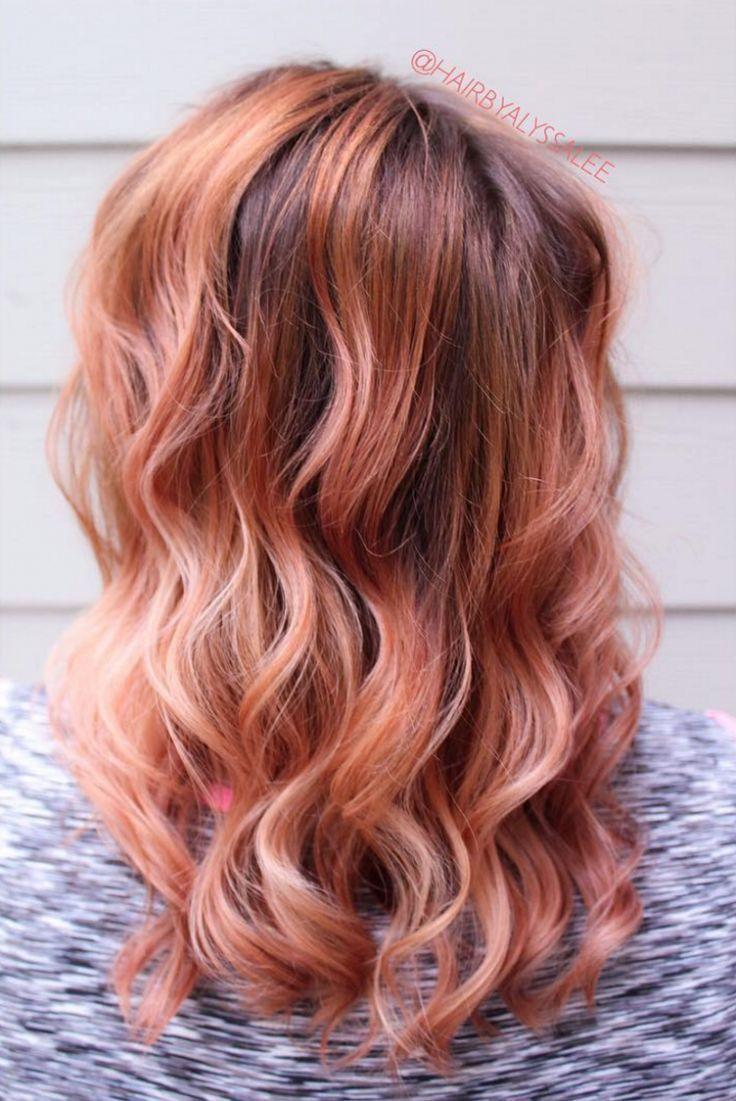 best 25 peach hair ideas on pinterest. Black Bedroom Furniture Sets. Home Design Ideas